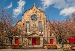 Canongate Kirk church
