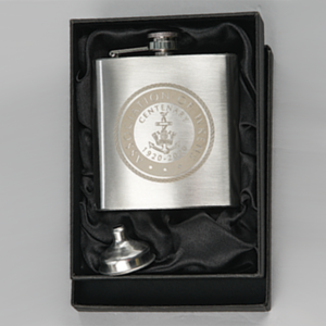 6oz hip flask with funnel