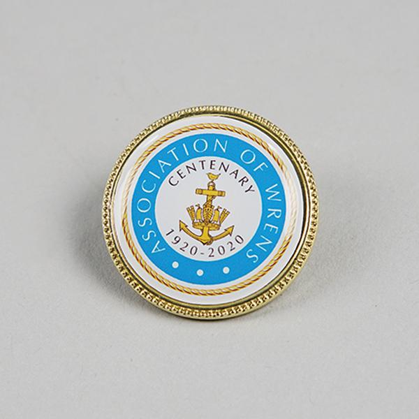 centenary crest badge