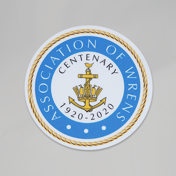 Centenary Crest Car Sticker