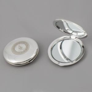 centenary crest compact mirror