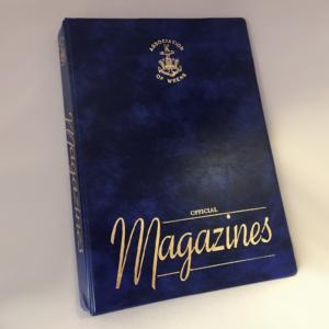folder for the wren magazines