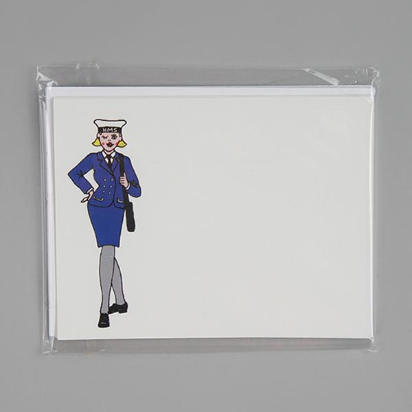 winking wren postcard