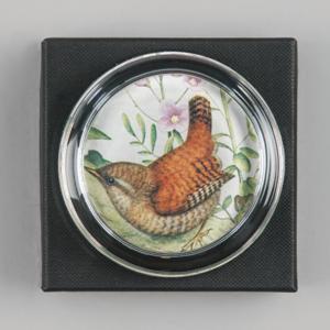 wren bird paperweight