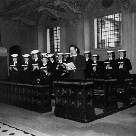 Wrens choir at Greenwich