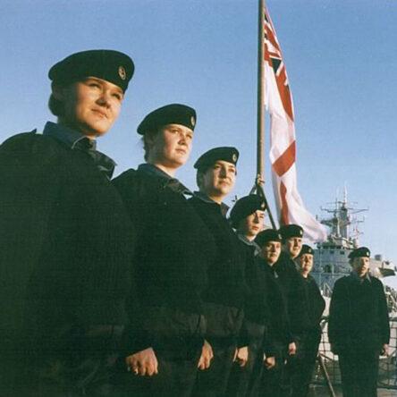 First Wrens sea draft HMS Brilliant
