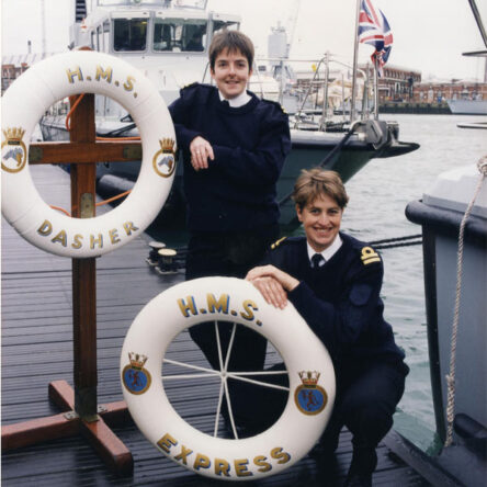 Fully integrated into the Royal Navy
