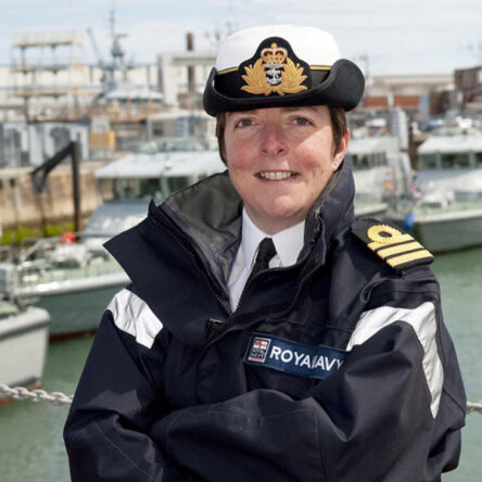 Commander Sue Moore RN