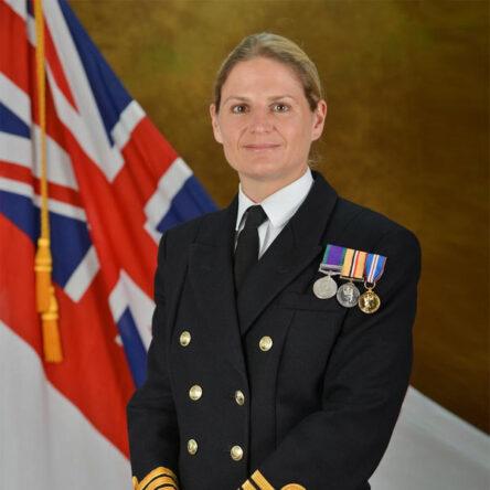 Commander Sarah West RN