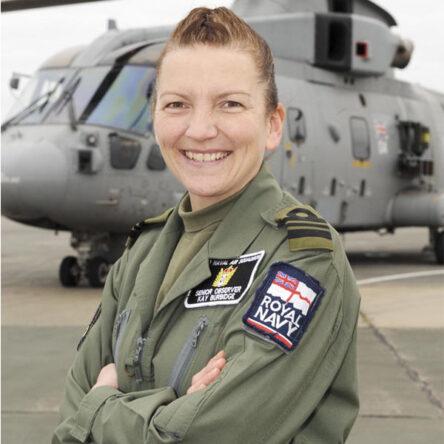 Lieutenant Commander Kay Burbidge