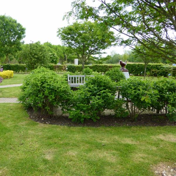 Wrens memorial garden